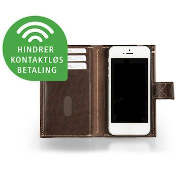 Kalveskinds Cover iPhone 6 Dark Brown