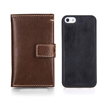 Kalveskinds Cover iPhone 7/8 Cognac