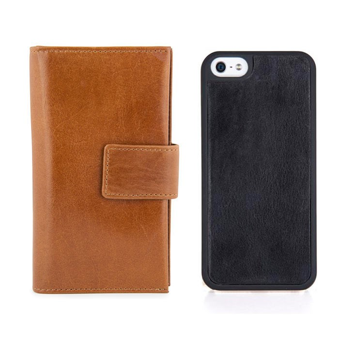 Cover Kalveskind iPhone 7/8 Cognac