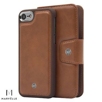 Marvelle iPhone 6/7/8 Vegan Cover N301 Light Brown