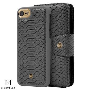 Marvelle iPhone 6/7/8 Vegan Cover N301 Grå Design