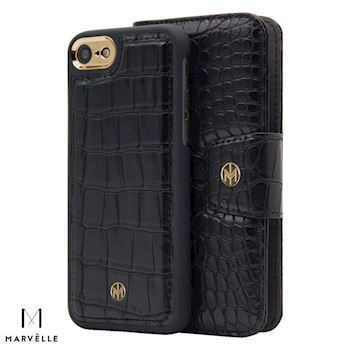 Marvelle iPhone 6/7/8 Vegan Cover N301 Croco Sort