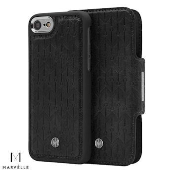 Marvelle iPhone 6/7/8 Vegan Cover N307 Midnight Black