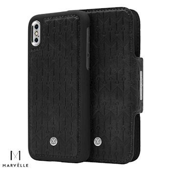 Marvelle iPhone X Vegan Cover N307 Midnight Black
