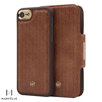 Marvelle iPhone 6/7/8 Vegan Cover N307 Light Oak Brown