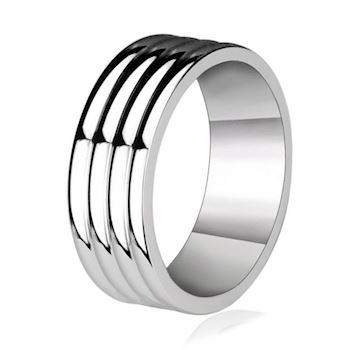 Herre Ring Cut Steel