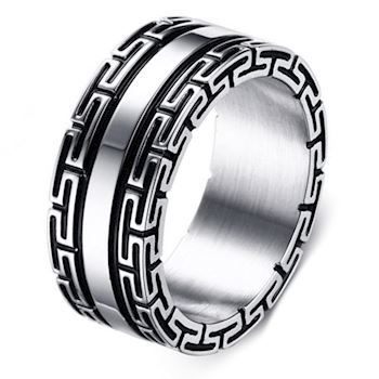 Herre Ring Trendy Design
