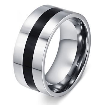 Black Stripe Ring