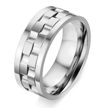 Herre Ring Titanium Tire