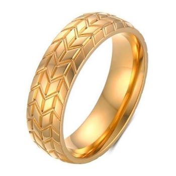 Herre Ring Track Gold