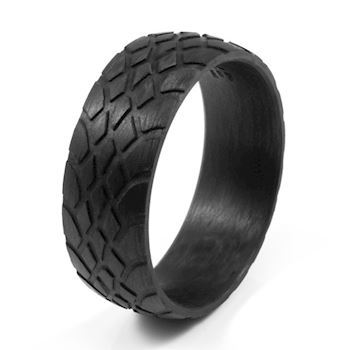 Loke Herre Ring Carbon Black
