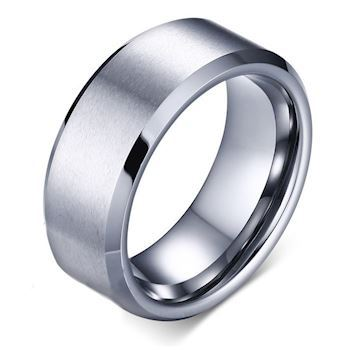 Tungstens Ring Facet Slebet