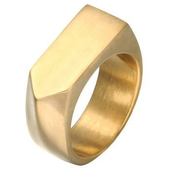 Herre Ring Arrow Gold