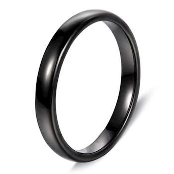 Ring Classic Black 4mm