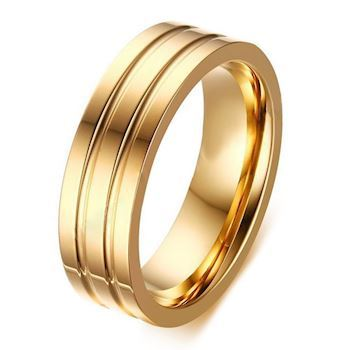 Herre Ring Austin Gold