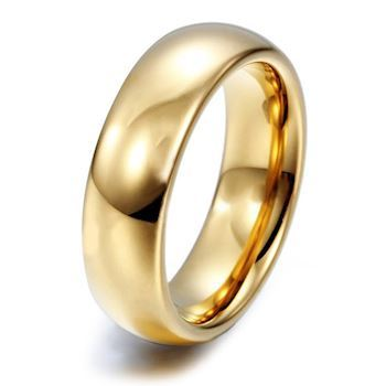 Ring Tungsten Classic Gold