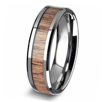 Herre Ring Steel & Wood