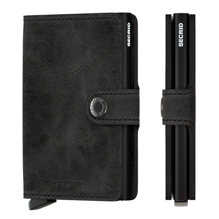 Secrid Mini Wallet Vintage Black