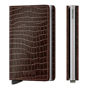 Secrid Slim Wallet Amazon Brown