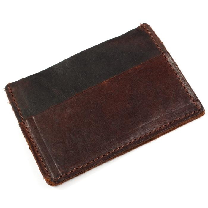 kortholder i læder