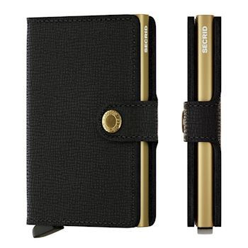 Secrid Mini Wallet Crisple Black Gold