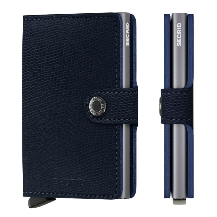 Secrid Mini Wallet Rango Blue Titanium