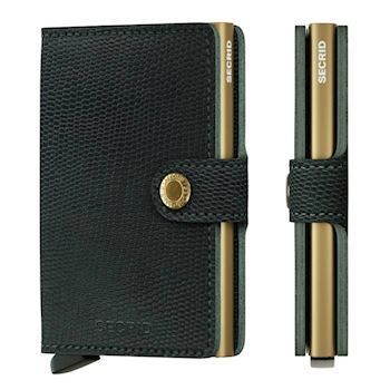 Secrid Mini Wallet Rango Green Gold
