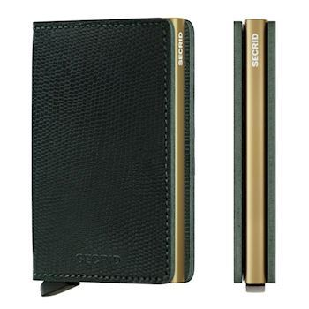 Secrid Slim Wallet Rango Green Gold