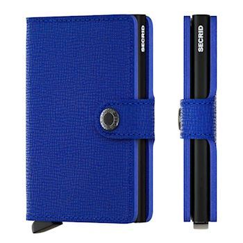 Secrid Mini Wallet Crisple Blue Black