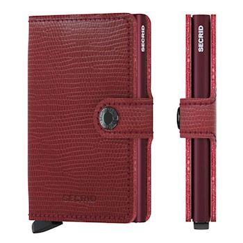 Secrid Mini Wallet Rango Rød Bordeaux