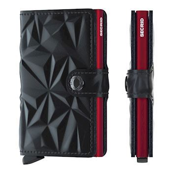 Secrid Mini Wallet Prism Black Red