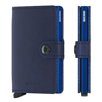 Secrid Mini Wallet Original Navy Blå