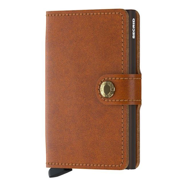 Secrid Mini Wallet Cognac Brown
