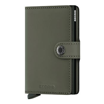 Secrid Mini Wallet Matte Green Black