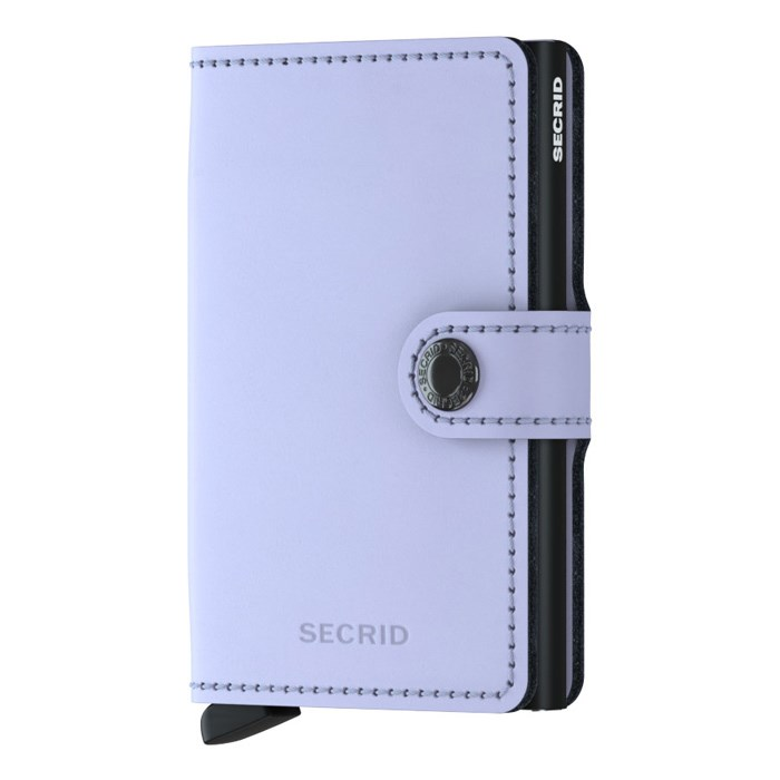 Secrid Mini Wallet Matte Lilac Black