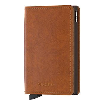 Secrid Slim Wallet Cognac Brown