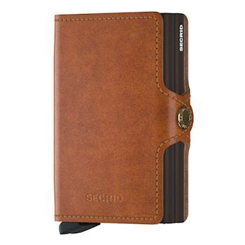 Secrid Twin Wallet Cognac Brown