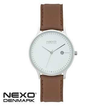 NEXO Herre Ur CHARLES White & Brown